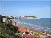 TA0487 : Scarborough  South  Bay  from  South  Cliff  Gardens by Martin Dawes