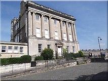 ST7465 : Entering Royal Crescent, Bath by Robin Sones