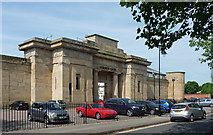 SK3436 : Former gaol, South Street, Derby by Stephen Richards