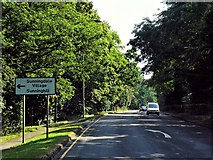SU9567 : Sunningdale, London Road by David Dixon