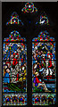 TQ8009 : Stained glass window, St Mary Magdalene church, St Leonards on Sea by Julian P Guffogg