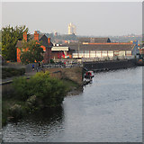 SK5838 : Trent Bridge to Sneinton by John Sutton