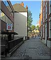 SK5639 : Hounds Gate, near Nottingham Castle by John Sutton
