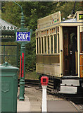 SK3455 : Blackpool and Fleetwood 'Box' 40 at the Victoria Park stop by Alan Murray-Rust