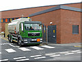 SO8754 : Worcestershire Royal Hospital - diesel delivery by Chris Allen