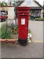 TG1905 : Cringleford Post Office Postbox by Adrian Cable