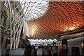 TQ3083 : Brown lighting, King's Cross Station by N Chadwick