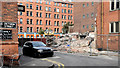 J3373 : Gt Victoria Street Baptist church, Belfast (demolition) - September 2014(5) by Albert Bridge