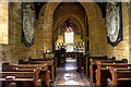 ST5705 : Heritage Open Day at Melbury House (8) - St Mary's Chapel (interior) by Mike Searle