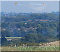 SP5196 : View east from Croft Hill by Mat Fascione