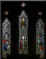 TQ8110 : East Window, Christchurch Blacklands, Hastings by Julian P Guffogg