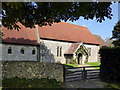 TV5597 : Tapsel Gate at East Dean Church by PAUL FARMER