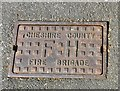 SJ9595 : Cheshire Country Fire Brigade Fire Hydrant by Gerald England
