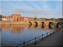 SO8454 : Worcester Bridge by Oast House Archive