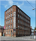 SK3436 : Banks's Mill, Brook Street, Derby by Stephen Richards