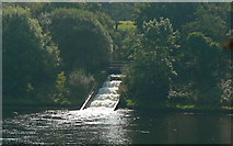 SN6503 : Cascade at Lower Lliw Reservoir by john bristow