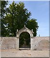 NH5241 : Walled garden entrance, Belladrum by Craig Wallace
