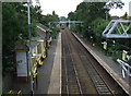 SJ4892 : Eccleston Park Railway Station by JThomas