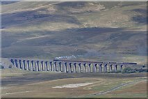 SD7579 : Steam on the Ribblehead Viaduct by Mick Garratt