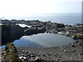 NM7317 : The swimming pool, Easdale by Oliver Dixon