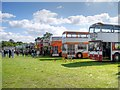 SD8203 : Bus Display, 2014 Trans Lancs Rally, Heaton Park Manchester by David Dixon