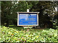 TM2788 : Denton United Reformed Church sign by Adrian Cable