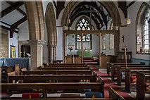 TF0684 : Interior, All Saints' church, Faldingworth by J.Hannan-Briggs