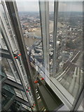 TQ3280 : London: looking down the Shard by Chris Downer