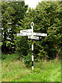 TM2887 : Roadsign on Danacre Road by Adrian Cable