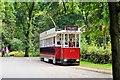 SD8304 : Heaton Park Tramway, Vanguard Tram 619 by David Dixon