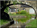 SJ9688 : Canal Bridge near Marple, Stockport by Roger  Kidd