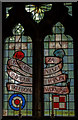 TF0684 : Stained glass window, All Saints' church, Faldingworth by J.Hannan-Briggs