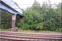 TQ3187 : Footbridge over the ECML by N Chadwick