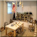SJ8898 : Victorian Kitchen, Clayton Hall by David Dixon