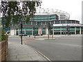 TQ1574 : SE Entrance, Twickenham Rugby Stadium by Paul Gillett