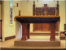 SJ7996 : St Antony's Church - Inside the Tin Tabernacle (3) by David Dixon