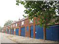 TG2308 : Norwich, former stables by Stephen Craven