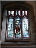 SD9772 : St. Mary, Kettlewell: stained glass window (c) by Basher Eyre
