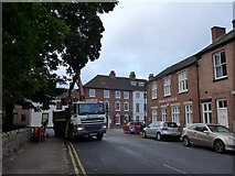 SK5319 : Grabber lorry in Steeple Row by Basher Eyre