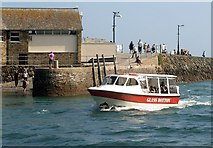 SX2553 : Boat trip, Looe by Derek Harper