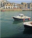 SX2553 : Boats at Looe by Derek Harper