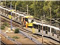 SJ8499 : Metrolink Single-Line Working at Manchester Victoria by David Dixon