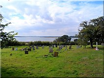 TL9919 : Graveyard, St Nicholas' church, Abberton by Bikeboy