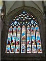 SU8504 : Stained glass window, Chichester Cathedral by Derek Voller