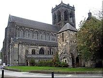 NS4863 : Paisley Abbey by James Denham