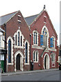 NZ5132 : Hartlepool - Baptist Church on Tower Street by Dave Bevis