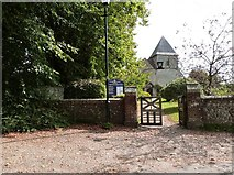 SU9803 : Entrance gate to the church of St. Mary the Virgin, Yapton, West Sussex by Derek Voller