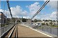 NJ9404 : Over the bridge by Bill Harrison