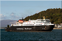 NM8529 : Clansman in Oban Bay by The Carlisle Kid
