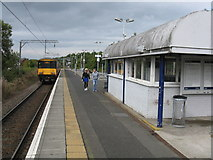 NS4075 : Dumbarton East station by Peter Whatley